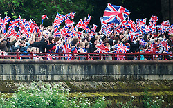 Diamond Jubilee River Pageant Sunday 3rd June 2012 Photo by i-Images.
