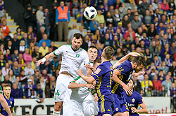 Dino Stiglec of NK Olimpija during football match between NK Maribor and NK Olimpija Ljubljana in 34th Round of Prva liga Telekom Slovenije 2017/18, on May 19, 2018 in Ljudski vrt, Maribor, Slovenia. Photo by Mario Horvat / Sportida