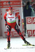 GEPA-13011068044 - RUHPOLDING,DEUTSCHLAND,13.JAN.10 - BIATHLON - IBU Weltcup, 7,5km Sprint der Damen. Bild zeigt Tora Berger (NOR). Foto: GEPA pictures/ Felix Roittner