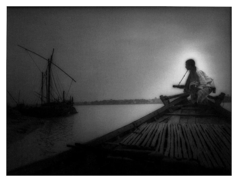 Crossing the Ganges, Patna, Bihar.