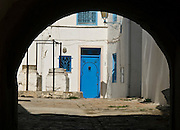Blue Door, Tunis, Tunisia