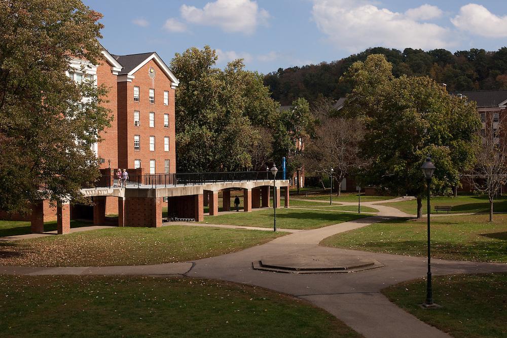 Ohio University campus Fall season in Athens, Ohio on Sunday, October 6, 2013. Photo by Chris Franz