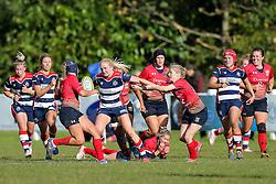 Tilly Vaughan Fowler of Bristol Ladies in action - Rogan Thomson/JMP - 16/10/2016 - RUGBY UNION - Cleve RFC - Bristol, England - Bristol Ladies Rugby v Lichfield Ladies - RFU Women's Premiership.