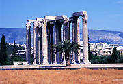 Temple of Olympian Zeus, Athens, Greece.