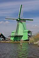 Windmill, Zaanse Schans, Holland, Netherlands