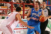 DESCRIZIONE : Porto San Giorgio 3° Torneo Internazionale dell'Adriatico Italia-Croazia<br /> GIOCATORE : Daniele Cavaliero<br /> SQUADRA : Nazionale Italiana Uomini Italia<br /> EVENTO : Porto San Giorgio 3° Torneo Internazionale dell'Adriatico<br /> GARA : Italia Croazia<br /> DATA : 06/06/2007 <br /> CATEGORIA : Palleggio<br /> SPORT : Pallacanestro <br /> AUTORE : Agenzia Ciamillo-Castoria/E.Castoria
