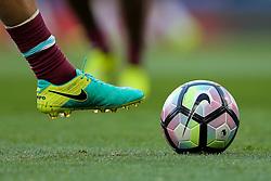Nike Tiempo boot and Premier League Matchball - Rogan Thomson/JMP - 15/08/2016 - FOOTBALL - Stamford Bridge Stadium - London, England - Chelsea v West Ham United - Premier League Opening Weekend.