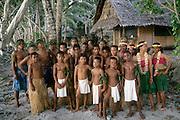 Dancers, Kosrae, FSM, Micronesia