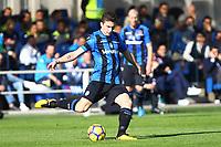 Atalanta-Napoli - Serie A 2017-18 - 21a giornata - Nella foto: Mattia Caldara  - Atalanta