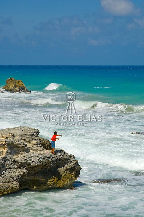 East shore. Isla Mujeres, Quintana Roo. Mexico