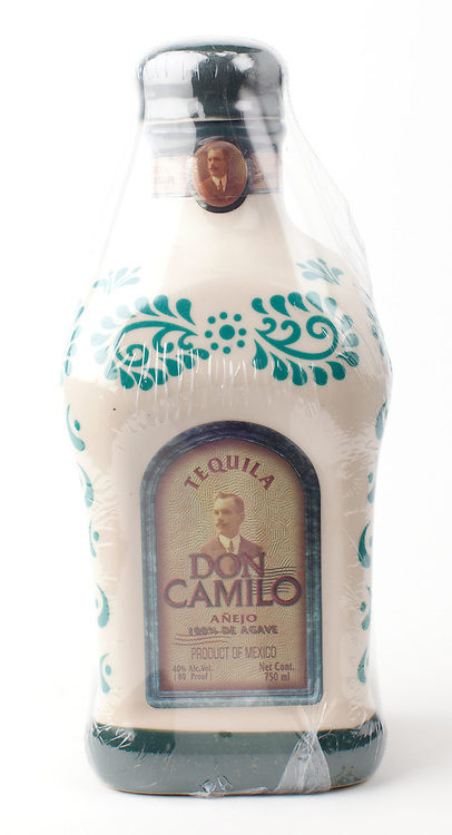 Don Camilo anejo -- Image originally appeared in the Tequila Matchmaker: http://tequilamatchmaker.com