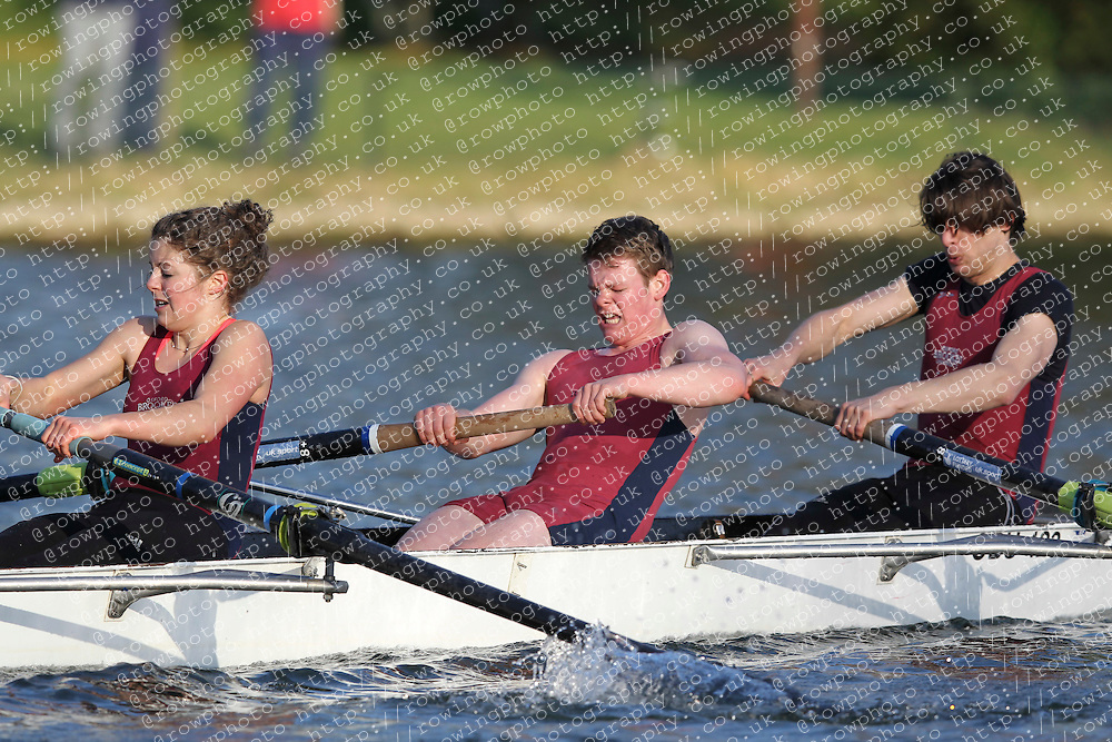 2012.02.25 Reading University Head 2012. The River Thames. Division 2. Oxford Brookes University Boat Club Nov 8+