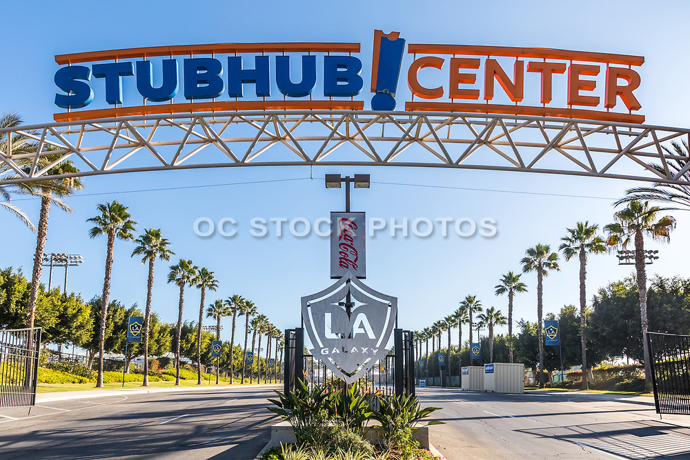Stubhub Center Entrance and Signage