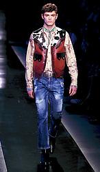 Men's fashion week, Dsquared2 fashion show. 15 Jan 2018 Pictured: Men's fashion week, Dsquared2 fashion show. Photo credit: Fotogramma / MEGA TheMegaAgency.com +1 888 505 6342
