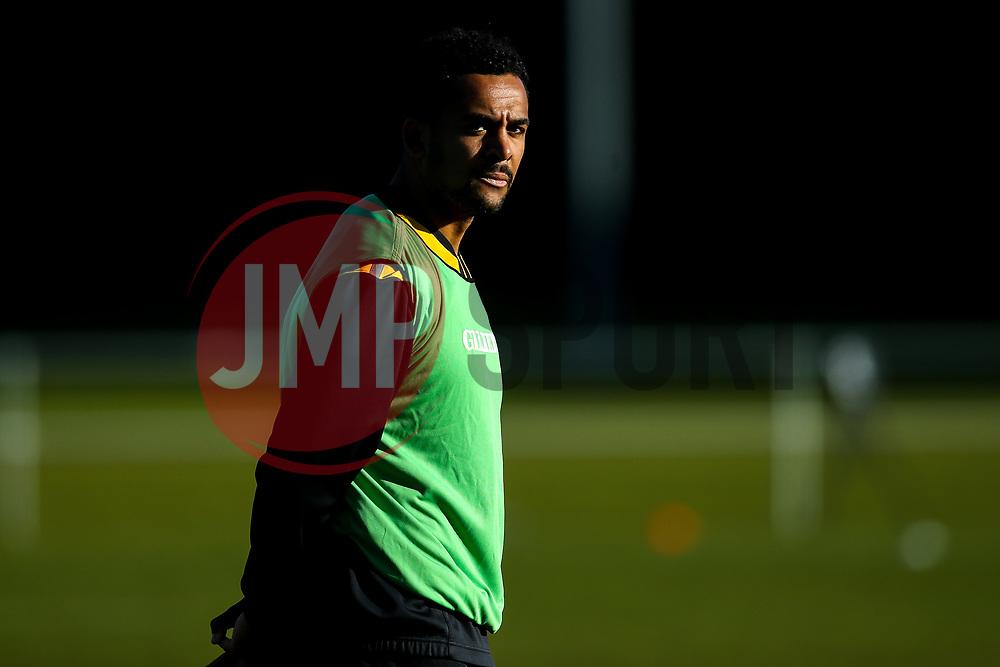 Zach Kibirige of Wasps during training ahead of the European Challenge Cup fixture against SU Agen - Mandatory by-line: Robbie Stephenson/JMP - 18/11/2019 - RUGBY - Broadstreet Rugby Football Club - Coventry , Warwickshire - Wasps Training Session