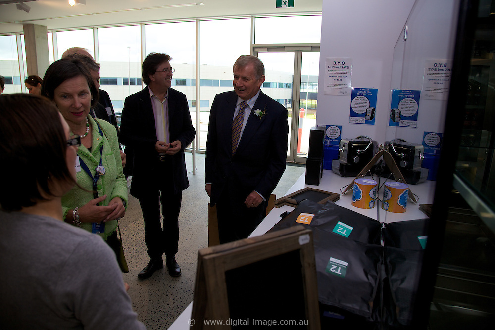 Simon Creans visit to the Australia Synchrotron