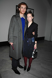 RODOLPHE & LADY FRANCES VON HOFMANNSTHAL daughter of the Earl of Snowdon at the opening party for 'Face of Fashion' an exhibition of photographs by five of the World's leading fashion photographers held at the National Portrait Gallery, St.Martin's Lane, London on 12th February 2007.<br />