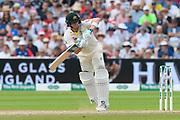 Steve Smith of Australia batting during the International Test Match 2019 match between England and Australia at Edgbaston, Birmingham, United Kingdom on 3 August 2019.