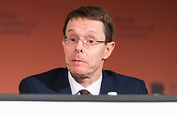 © Licensed to London News Pictures. 28/02/2017. West Midlands Conservative Candidate ANDY STREET speaks at the British Chambers of Commerce Annual Conference 2017 on growing business in the regions and nations.<br /> London, UK. Photo credit: Ray Tang/LNP