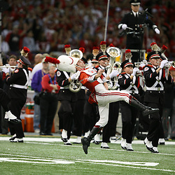 07 January 2008: The Ohio State band performs during the 2008 All State BCS Championship game a 38-24 win by the LSU Tigers over the Ohio State Buckeyes at the Louisiana Superdome in New Orleans, Louisiana.