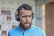 Manchester City defender Nicolas Otamendi during the Premier League match between Burnley and Manchester City at Turf Moor, Burnley, England on 26 November 2016. Photo by Pete Burns.