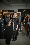 DONNA AIR , Book launch for ÔThe Measure' edited by Louise Clarke.  commissioned by the London College of Fashion. Bluebird. King's Rd. London. 21 November 2007. -DO NOT ARCHIVE-© Copyright Photograph by Dafydd Jones. 248 Clapham Rd. London SW9 0PZ. Tel 0207 820 0771. www.dafjones.com.