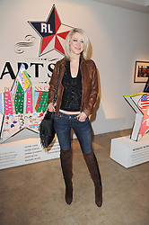 SIOBHAN HEWLETT at the Polo Jeans Co. hosted Art Stars Auction in support of the Teenage Cancer Trust held at Phillips de Pury & Co, Howick Place, London on 6th December 2010.