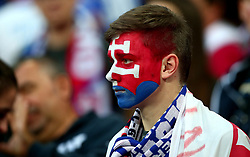 A Slovakia fan at Wembley for the World Cup Qualifier against England - Mandatory by-line: Robbie Stephenson/JMP - 04/09/2017 - FOOTBALL - Wembley Stadium - London, United Kingdom - England v Slovakia - 2018 FIFA World Cup Qualifier