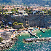 AERIAL panoramic views of the Sorrento Coast
