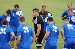 Bristol Rovers physio Gavin Crowe overlooks training - Photo mandatory by-line: Dougie Allward/JMP - Mobile: 07966 386802 - 02/07/2015 - SPORT - Football - Bristol - Friends Life Training Ground - Bristol Rovers Pre-Season Training
