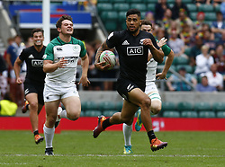 May 26, 2019 - Twickenham, England, United Kingdom - Regan Ware of New Zealand .during The HSBC World Rugby Sevens Series 2019 London 7s 5th Place Play-Off Match 43 between New Zealand and Ireland at Twickenham on 26 May 2019. (Credit Image: © Action Foto Sport/NurPhoto via ZUMA Press)