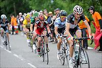 Sykkel<br /> Tour de France 2011<br /> 14.07.2011<br /> Foto: PhotoNews/Digitalsport<br /> NORWAY ONLY<br /> <br /> 12th stage / Gugnaux - Luz-Ardiden<br /> <br /> SCHLECK Frank (TEAM LEOPARD-TREK - LUX) - CONTADOR Alberto (SAXO BANK SUNGARD - ESP) - EVANS Cadel (BMC RACING TEAM - AUS)