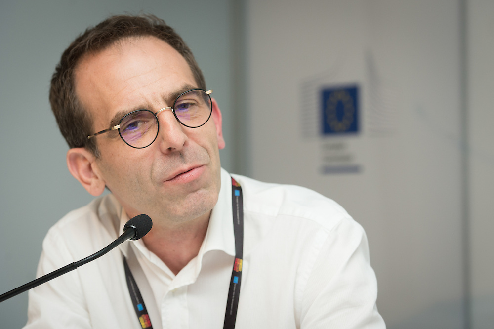 04 June 2015 - Belgium - Brussels - European Development Days - EDD - Urban - The Human Scale - For people-centered sustainable cities - <br /> Fr&eacute;d&eacute;ric Saliez , Human Settlements Officer, United Nations Human Settlements Programme (UN Habitat) &copy; European Union