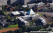 aerial photograph of the Church of Scotland in Glasgow Scotland