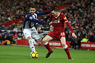 Liverpool v West Bromwich Albion - 13 Dec 2017