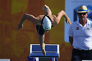 Cyrielle Duhamel (FRA) competes on Women's 50 m Breaststroke during the French Open 2018, at Aquatic Center Odyssée in Chartres, France on July 7th to 8th, 2018 - Photo Stephane Kempinaire / KMSP / ProSportsImages / DPPI