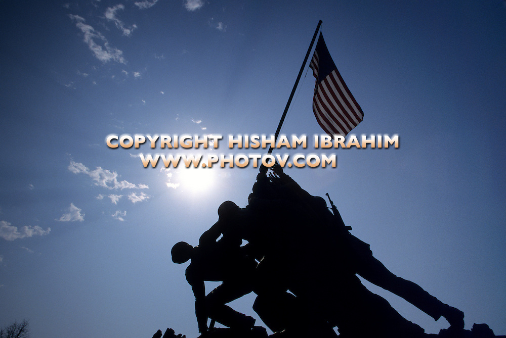 Iwo Jima Memorial, Arlington, Virginia, USA