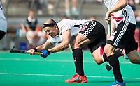 ROTTERDAM - Justin Reid-Ross (A'dam) bij de finale Rotterdam-Amsterdam van de ABN AMRO cup 2017 . COPYRIGHT KOEN SUYK