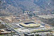 Aerial Photography of Haifa, Israel The Sammy Ofer Sports Stadium