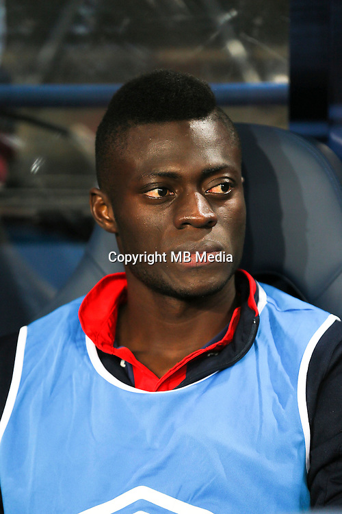 Pape Sane of Caen during the Ligue 1 match between SM Caen and Paris Saint Germain at Stade Michel D'Ornano on September 16, 2016 in Caen, France. (Photo by Vincent Michel/Icon Sport)