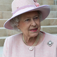 Liverpool, England May 22nd Her Majesty Queen Elizabeth II visits Liverpool One  one of tbhe largest developments projects in the country