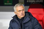 Tottenham Hotspur Manager José Mourinho during the Champions League match between Bayern Munich and Tottenham Hotspur at Allianz Arena, Munich, Germany on 11 December 2019.