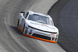 May 4, 2018 - Dover, Delaware, United States of America - Johnny Sauter (23) brings his car through the turns during practice for the OneMain Financial 200 at Dover International Speedway in Dover, Delaware. (Credit Image: © Chris Owens Asp Inc/ASP via ZUMA Wire)