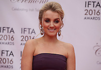 Actress Evanna Lynch at the IFTA Film & Drama Awards (The Irish Film & Television Academy) at the Mansion House in Dublin, Ireland, Saturday 9th April 2016. Photographer: Doreen Kennedy