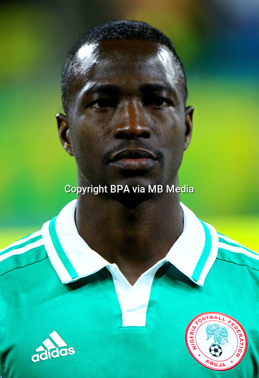 Football Fifa Brazil 2014 World Cup / <br /> Nigeria National Team - <br /> John UTAKA of Nigeria