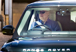 © Licensed to London News Pictures. 29/07/2020. Windsor, UK.  Prince Andrew is seen driving from his home in Windsor. Queen Elizabeth II and the Duke of Edinburgh are expected to leave Windsor Castle for Balmoral as early as next week for their summer break in Scotland. Photo credit: Peter Macdiarmid/LNP