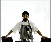 TONY SINGH, CHEF OF OLOROSO, EDINBURGH.<br /> <br /> PICTURE BY PAUL DODDS - 0777 569 1846