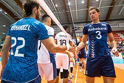 06-09-2018 NED: Netherlands - Argentina, Doetinchem<br /> First match of Gelderland Cup / Maarten van Garderen #3 of Netherlands
