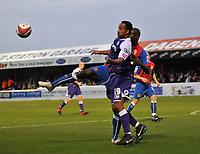 Photo: Tony Oudot/Richard Lane Photography. Dagenham & Redbridge v Rochdale. Coca-Cola Football League Two. 21/11/2009. <br /> Chris O'Grady of Rochdale