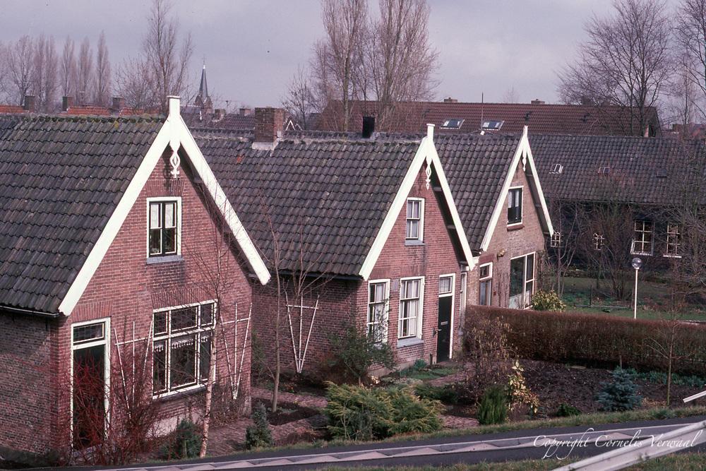 Huizen aan de Lekdijk